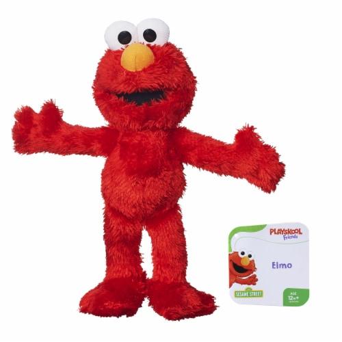 Hasbro Playskool Sesame Street Elmo Plush Perspective: front