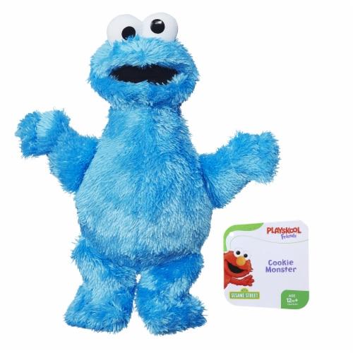 Hasbro Sesame Street Cookie Monster Mini Plush Doll Perspective: front