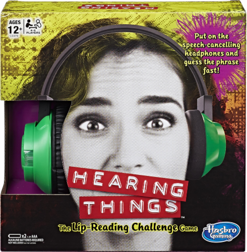 Hasbro Hearing Things Game Perspective: front
