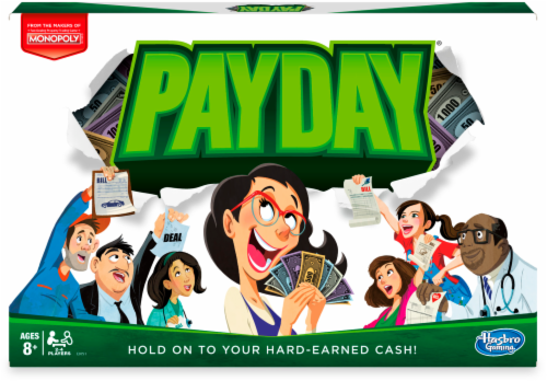 Hasbro Pay Day Game Perspective: front
