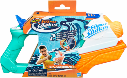 Nerf Super Soaker SplashMouth Water Blaster Perspective: front