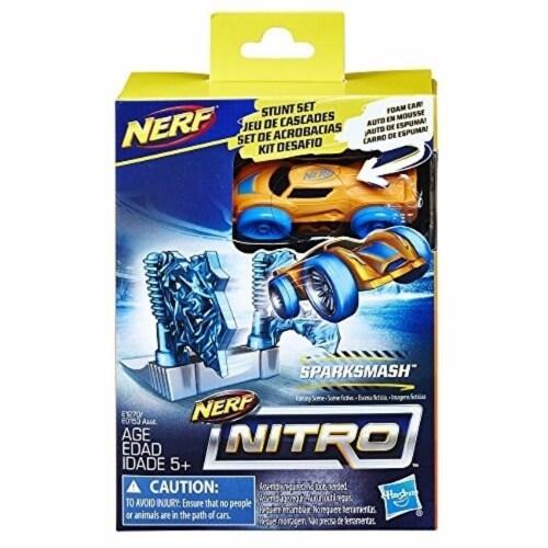Nerf Nitro SparkSmash Stunt Set Perspective: front