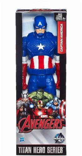 Hasbro Marvel Infinity War Titan Hero Series Captain America with Titan Hero Power FX Port Perspective: front