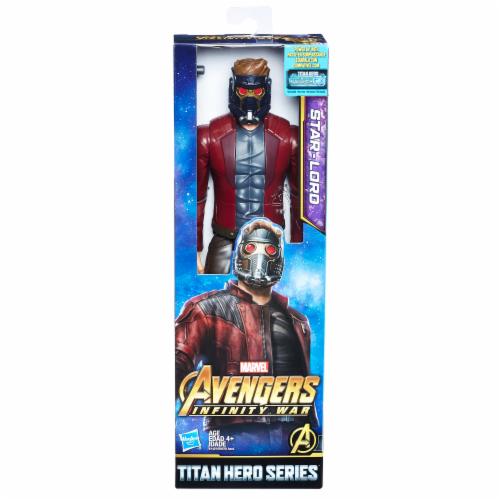 Hasbro Marvel Infinity War Titan Hero Series Star-Lord with Titan Hero Power FX Port Perspective: front