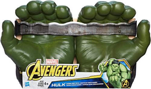 Hasbro Marvel Avengers Gamma Grip Hulk Fists Perspective: front