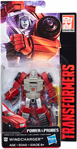 Transformers: Generations Power of the Primes Legends Class Windcharger Perspective: front