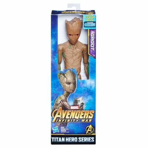 Hasbro Marvel Infinity War Titan Hero Series Groot with Titan Hero Power FX Port Perspective: front
