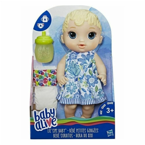 Hasbro HSBE0358 Baby Alive - Lil Sips Baby Assortment - 2 Piece Perspective: front