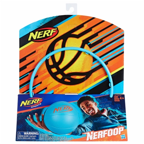 Nerf Sports Nerfoop - Blue Perspective: front
