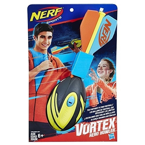 Nerf Vortex Aero Howler Foam Battle Toy Perspective: front