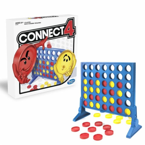 Hasbro Gaming Classic Connect 4 Game Perspective: front