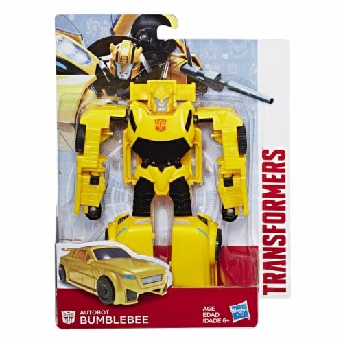 Hasbro Bumblebee Transformer Action Figure Perspective: front