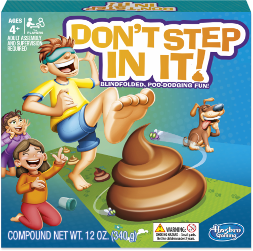 Hasbro Don't Step In It! Game Perspective: front