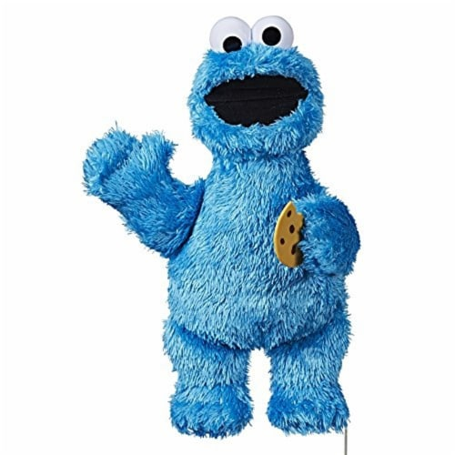 Sesame Street Feed Me Cookie Monster Plush Toy Perspective: front