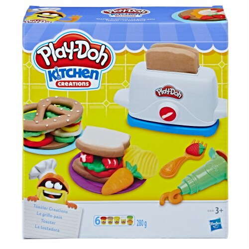 Hasbro Play-Doh Kitchen Creations Toaster Creations Set Perspective: front