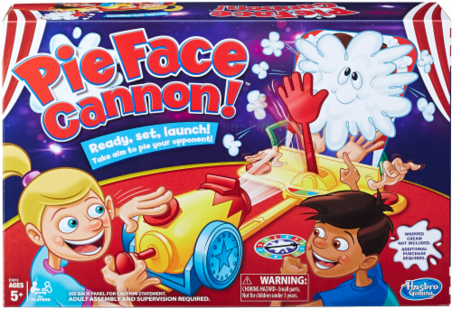 Hasbro Pie Face Cannon Game Perspective: front