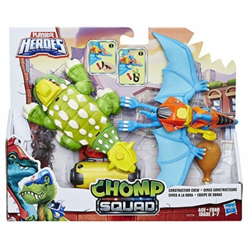 Playskool Heroes Chomp Squad Construction Crew Perspective: front