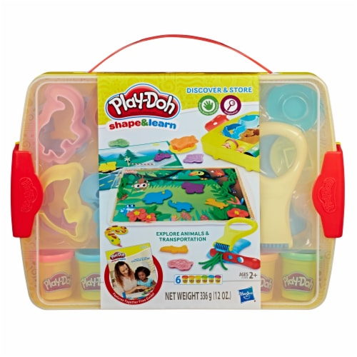 Play-Doh Discover and Store Creative Play Perspective: front