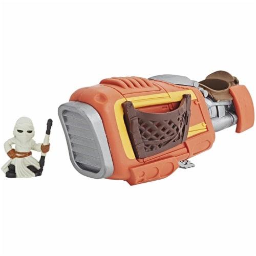Hasbro Disney Star Wars Rey's Speeder Perspective: front