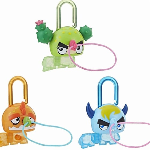 Hasbro 30368640 Series 1 Lock Stars Doll - Bundle of 3 Perspective: front