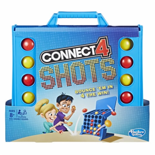Hasbro Connect 4 Shots Game Perspective: front
