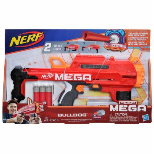 Nerf N-Strike Mega AccuStrike Bulldog Blaster Perspective: front