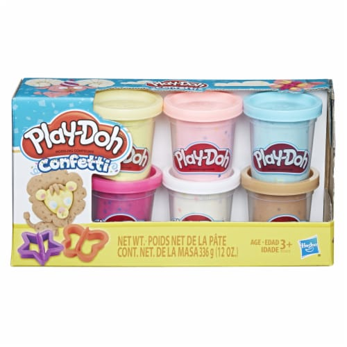 Play-Doh Confetti Perspective: front