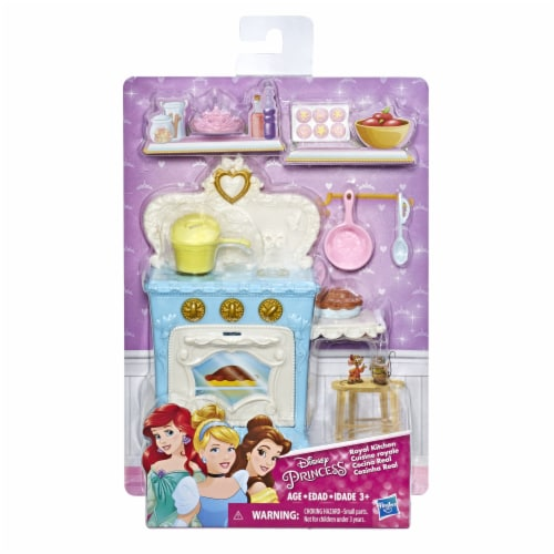 Hasbro Disney Princess Royal Kitchen Playset Perspective: front