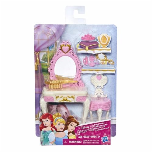 Hasbro Disney Princess Royal Vanity Doll Playset Perspective: front