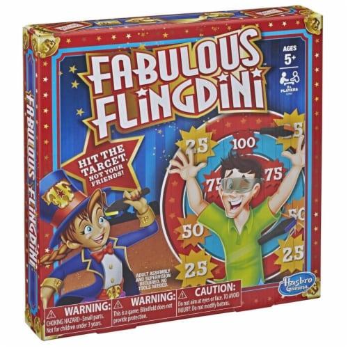 Hasbro HSBE2987 Fabulous Flingdini Board Game, Perspective: front