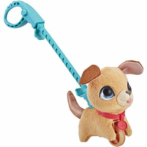 Furreal Walkalots Lil' Wags Puppy Toy Perspective: front