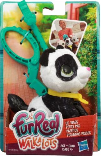 Hasbro Fur Real Walkalots Lil Wags Panda Perspective: front