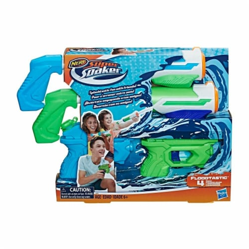 Hasbro Nerf Supersoaker Floodtastic Toy Water Guns Perspective: front