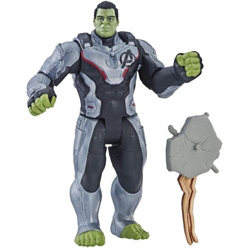 Marvel Avengers Super Hero Action Figure Toy - Team Suit Hulk Perspective: front