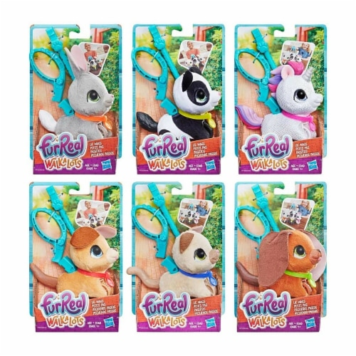 Hasbro HSBE3503 FurReal Walkalots Lil Wags Assortment, Pack of 6 Perspective: front