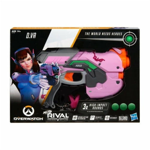 Hasbro Nerf Rival Overwatch D.VA Blaster Toy Perspective: front