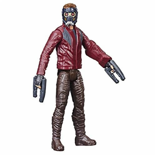 Marvel Avengers Titan Hero Series Star-Lord Figure Perspective: front