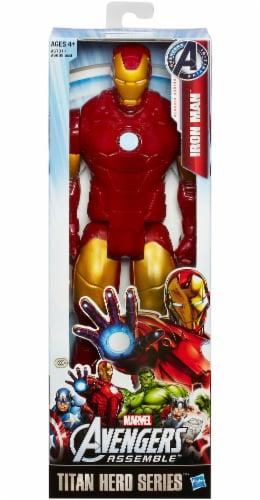 Hasbro Marvel Avengers: Endgame Titan Hero Series Iron Man Action Figure Perspective: front