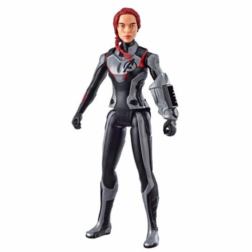 Marvel Avengers: Endgame Titan Hero Series Black Widow Action Figure Perspective: front