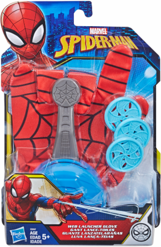 Hasbro Spider-Man FX Web Launcher Glove - Red/Blue Perspective: front