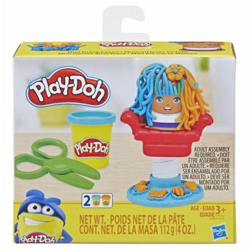 Play-Doh Mini Classics Crazy Cuts Barbershop Modeling Compound Set Perspective: front