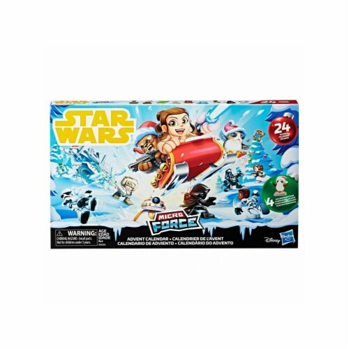 Hasbro HSBE5023 Star Wars S2 Micro Force Advent Calendar Toy - Set of 8 Perspective: front