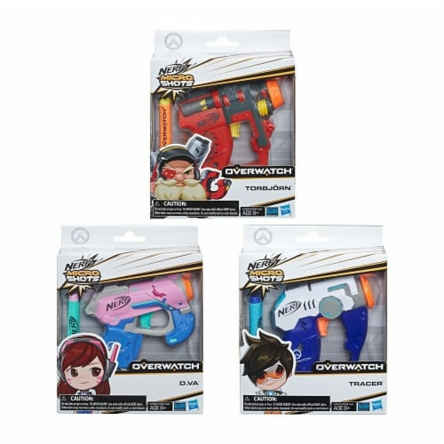 Hasbro HSBE3532 Nerf Overwatch Microshots - Assorted Perspective: front