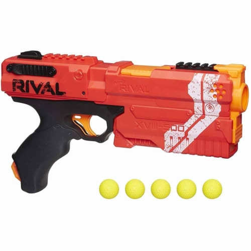 Nerf Rival Kronos XVIII 500 Spring-Action Blaster   Red Perspective: front