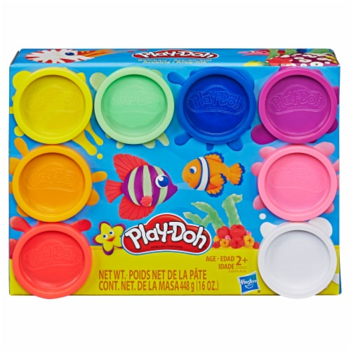 Hasbro Play-Doh Rainbow Non-Toxic Modeling Compound 8 ct Perspective: front