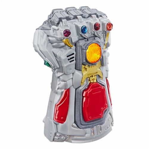 Avengers Marvel Endgame Electronic Fist Roleplay Toy w/ Lights & Sounds for Kids Perspective: front