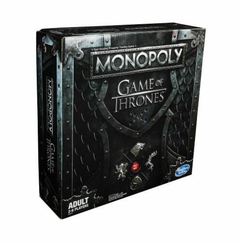 Hasbro Games of Thrones Monopoly Board Game Perspective: front