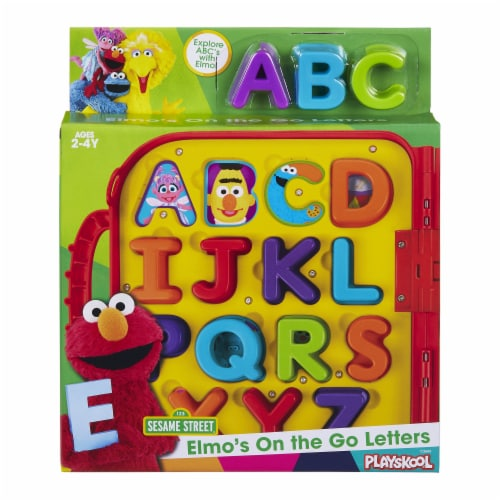 Playskool Sesame Street Elmo's On the Go Letters Toy Perspective: front