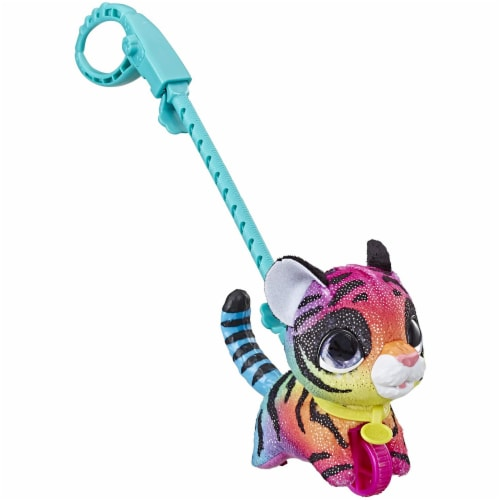 FurReal Walkalots Lil' Wags Tiger Toy Perspective: front