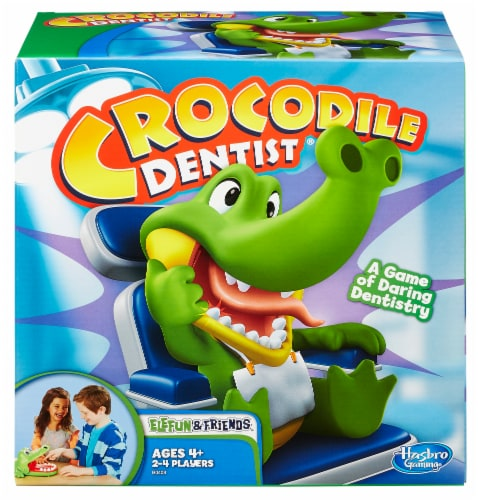 Hasbro Crocodile Dentist Game Perspective: front